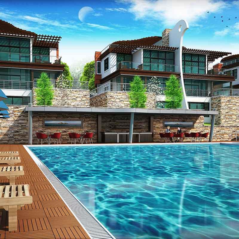 Villa Kuşadası Projesi 2