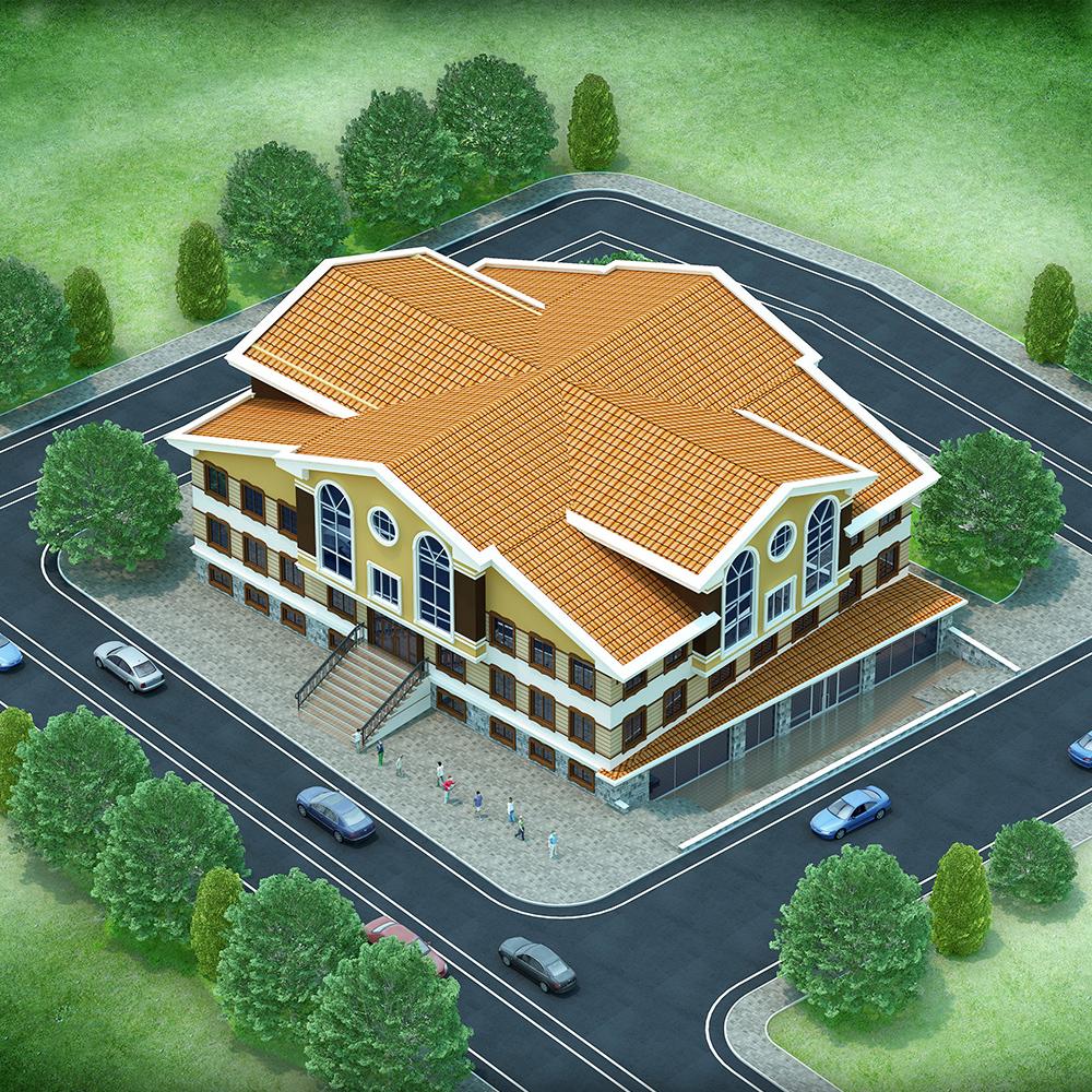 Ahi-Vakfı-Batıkent-Hizmet-Binası-1
